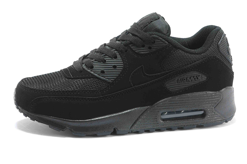 all black nike air max