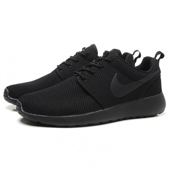 new styles c14ac b6d3a all black nike shoes womens