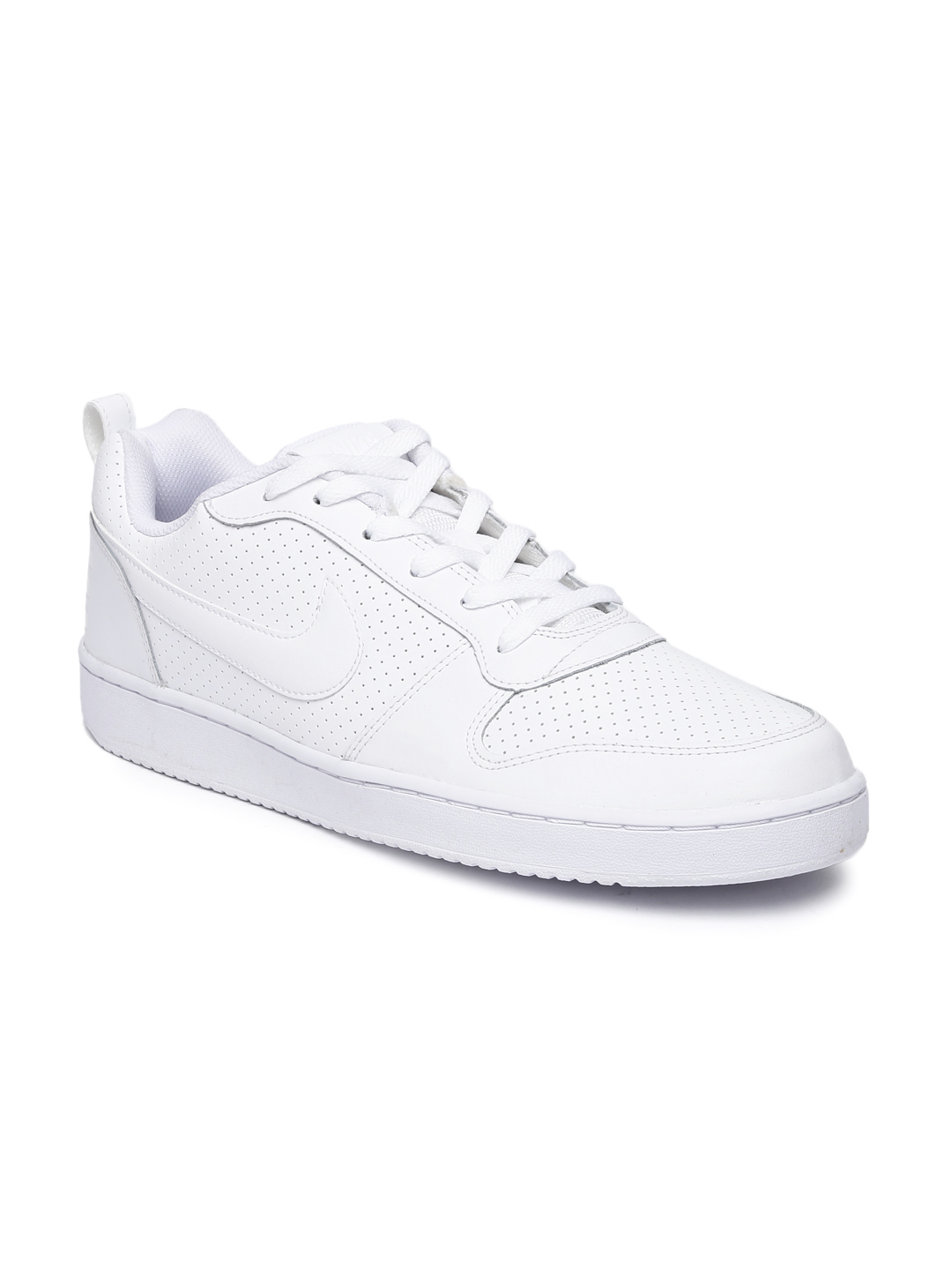 all white mens nike shoes