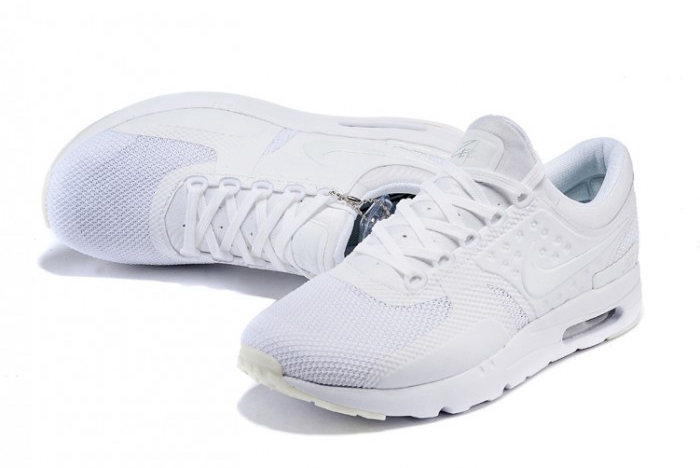 all white nike air max