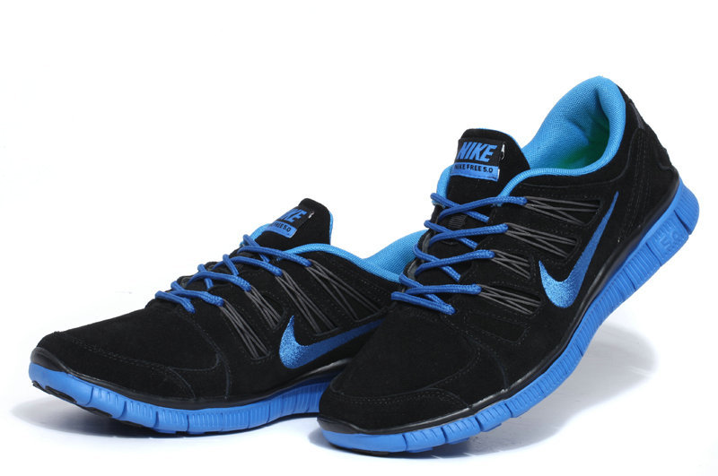 Black And Blue Nike Shoes   Buy Nike Sneakers   Shoes  317127a089239