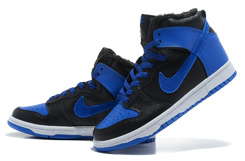 classic fit 251c8 23c72 black and blue nike shoes