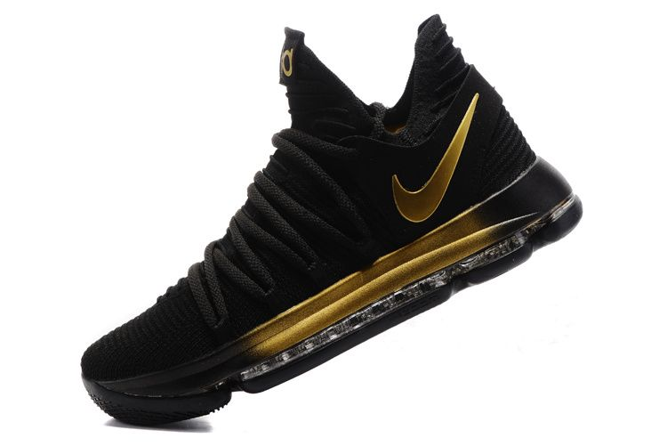 black and gold nike shoes