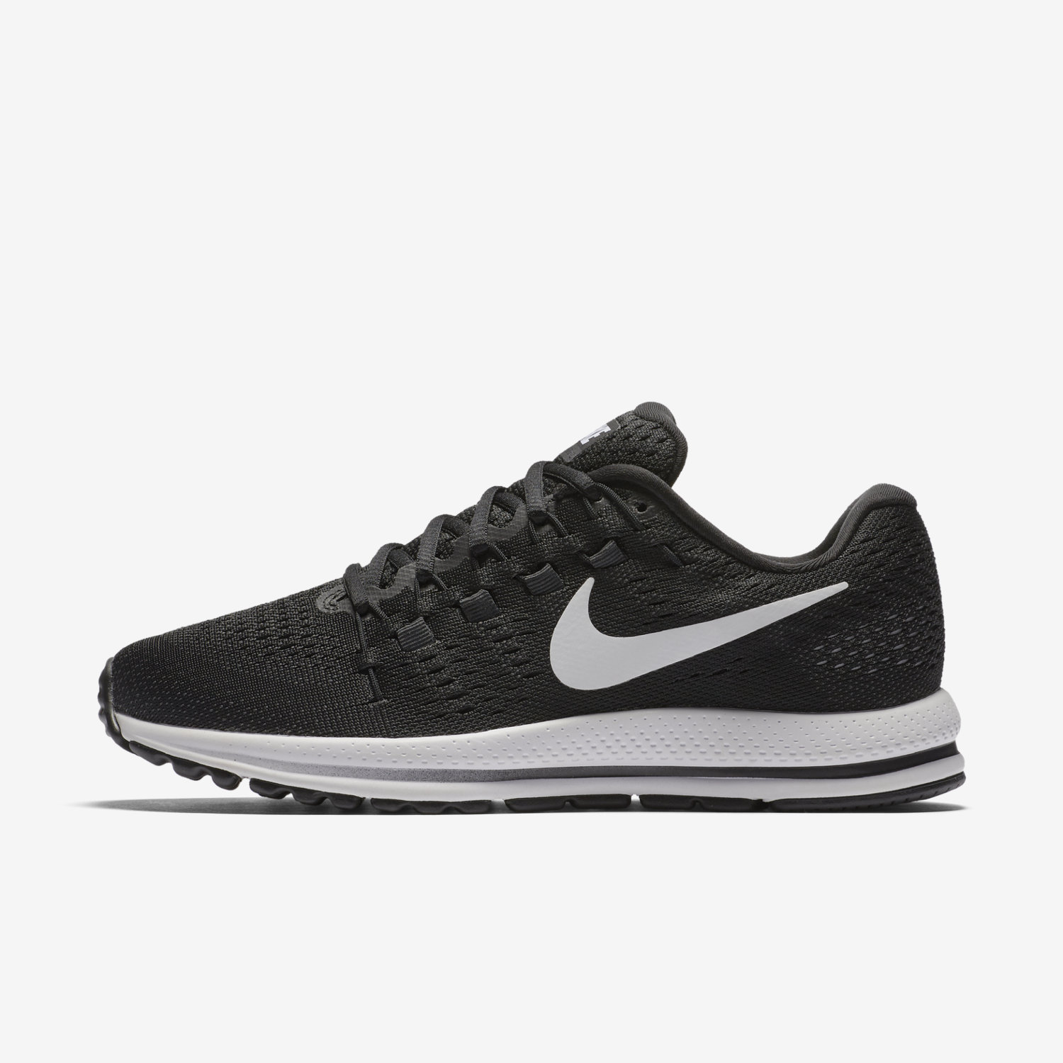 newest 9a06c b78c9 black and white womens nike shoes