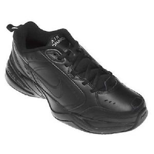 black leather nike shoes
