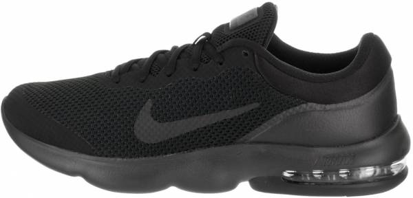 black nike air max mens