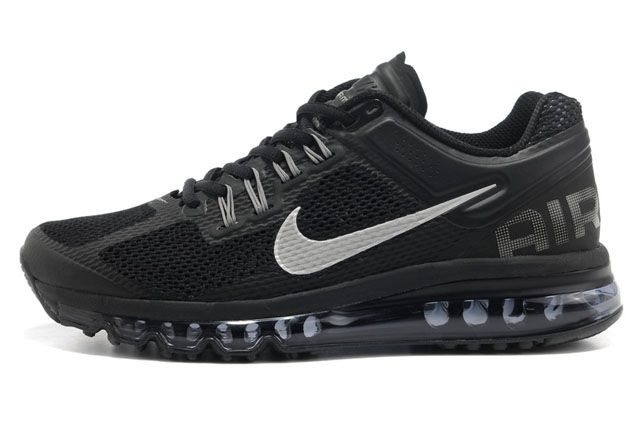 black nike air max womens