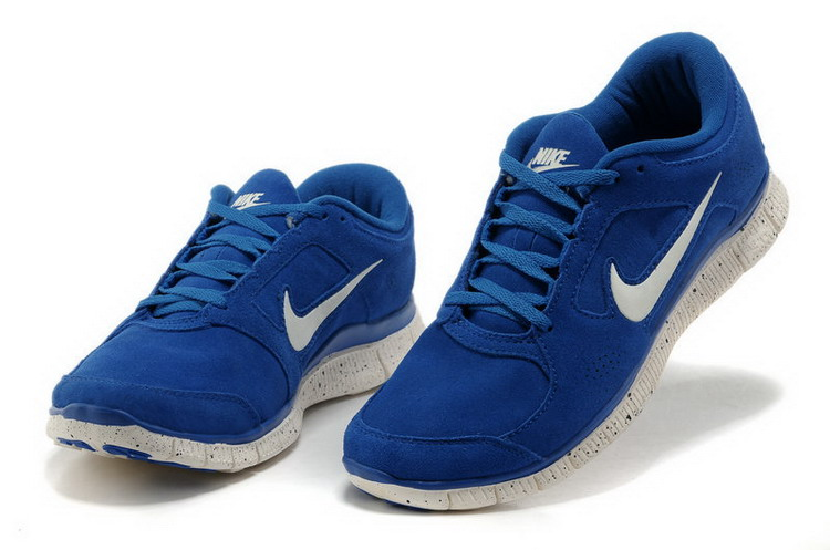blue nike shoes mens