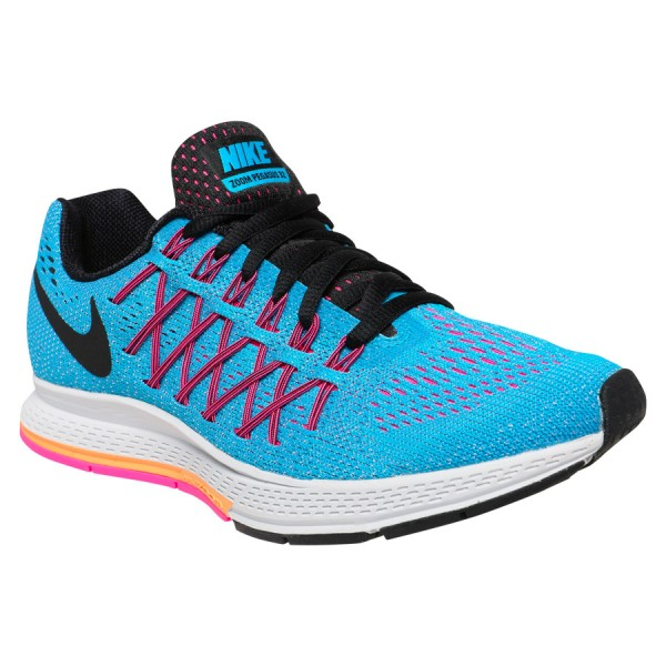 blue nike shoes womens