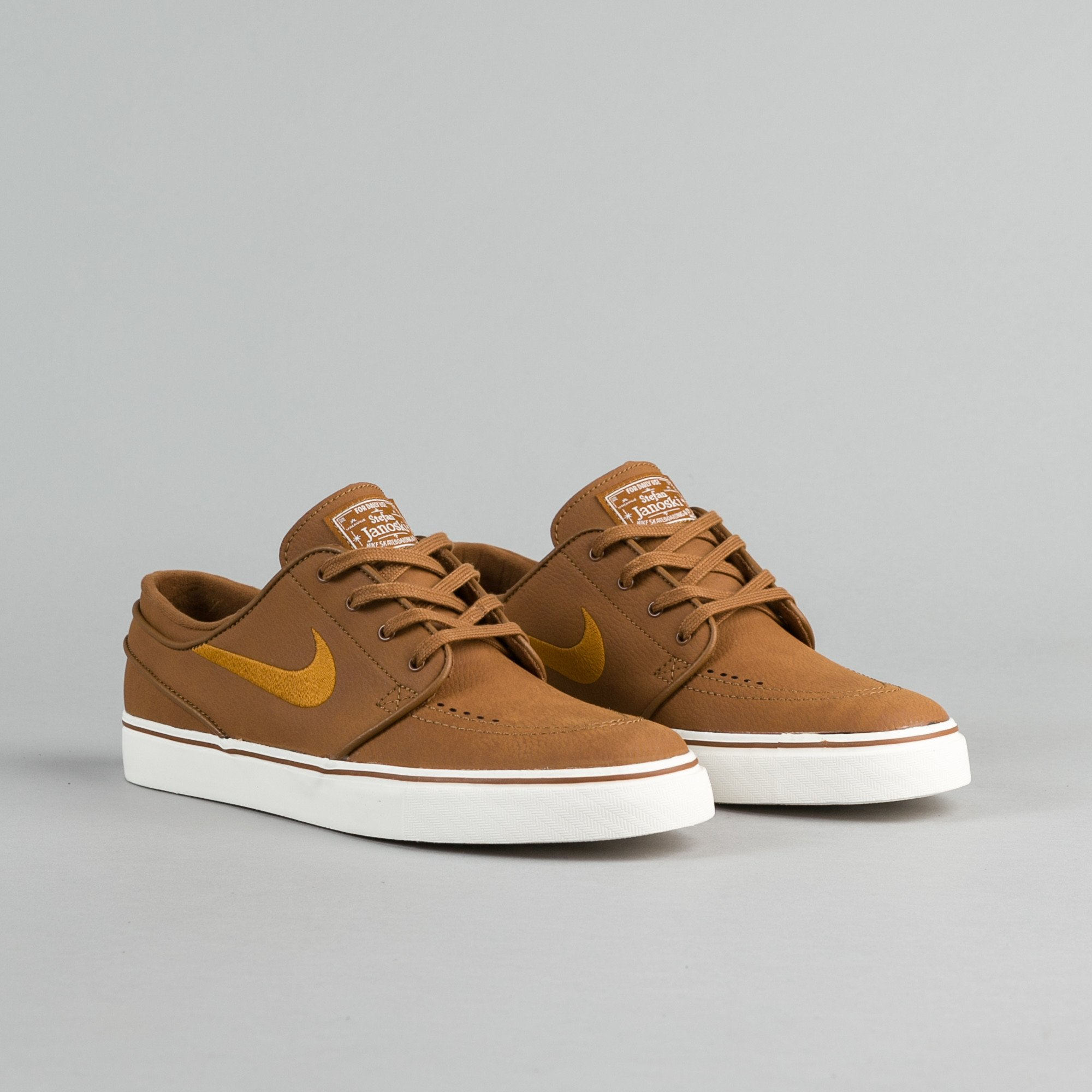 brown nike shoes