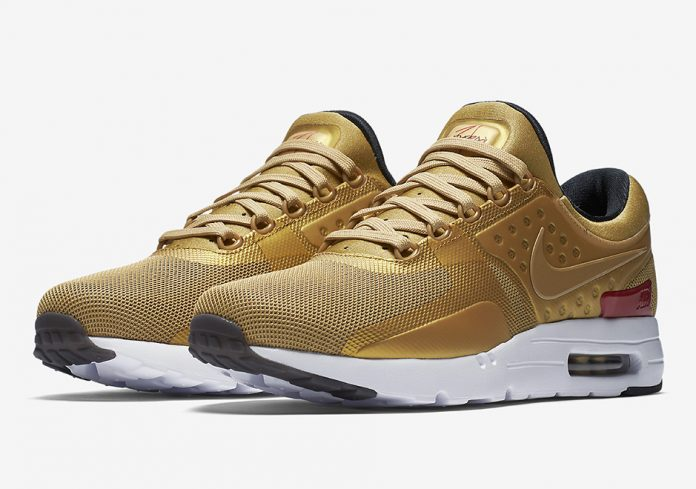 on sale b5c84 8b9d7 ... authentic gold nike sneakers 9230a 3eff0