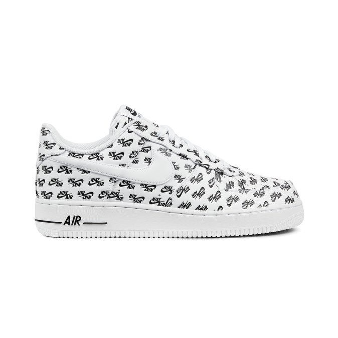 Nike air force 1 bianca bassa decorata a mano libera Mod