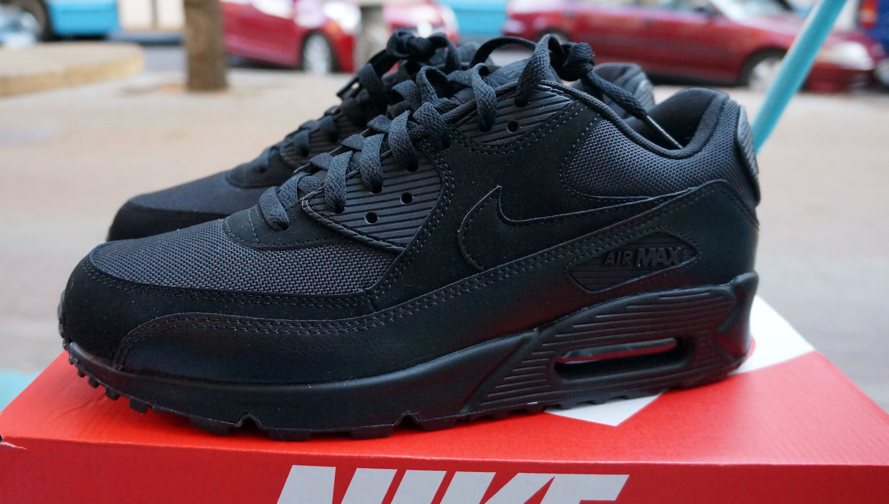 7e7cfb73b9d Nike Air Max 90 Black : Buy Nike Sneakers & Shoes | Air force 1, Air ...