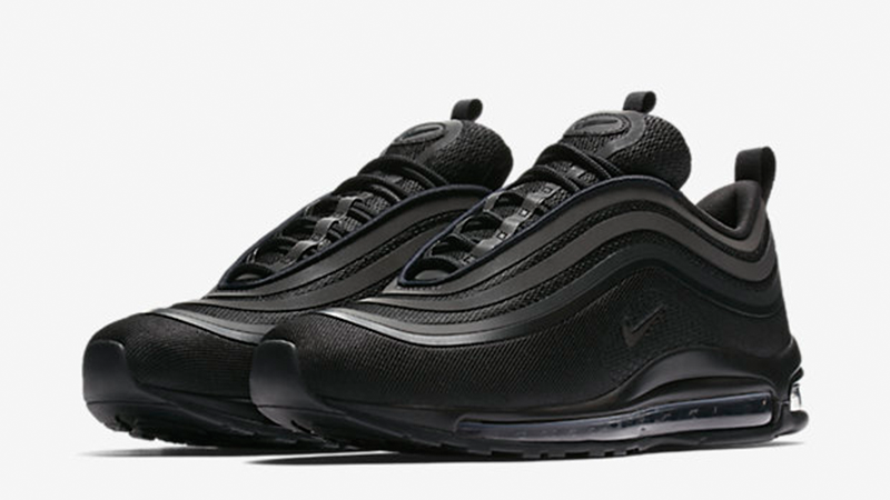 the latest 62cce f447f all black air force 1 air max 97 sneakers Black Sneakers White Sneakers.