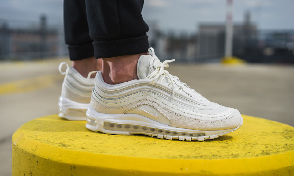 new styles 8ddab 5f80b nike air max 97 white