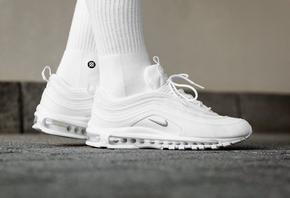 new styles 6023d eba69 nike air max 97 white