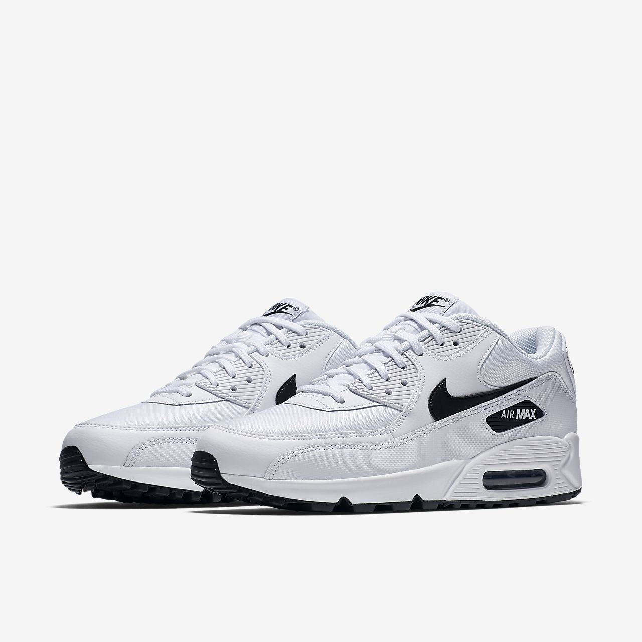 free shipping d707a 71cb2 nike air max black and white