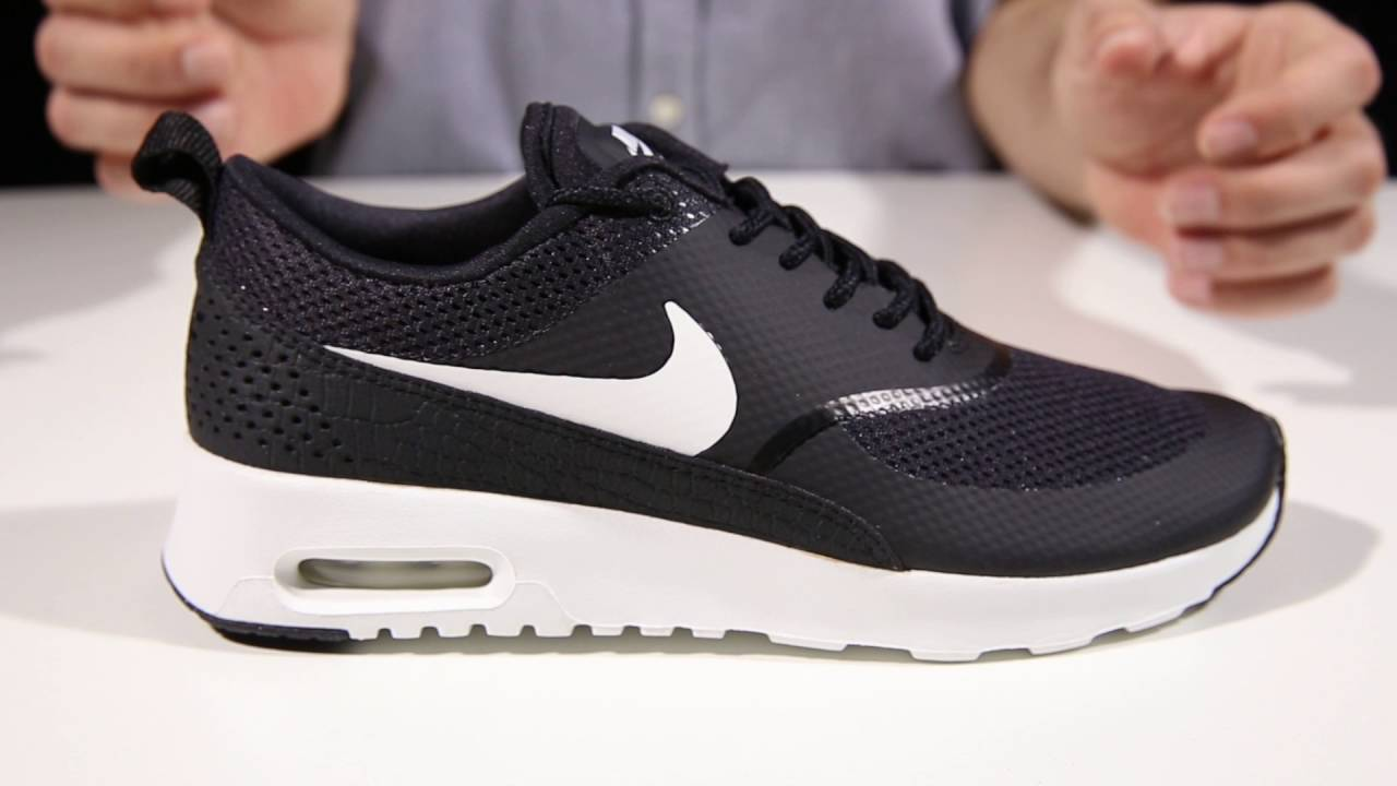 nike air max thea womens black