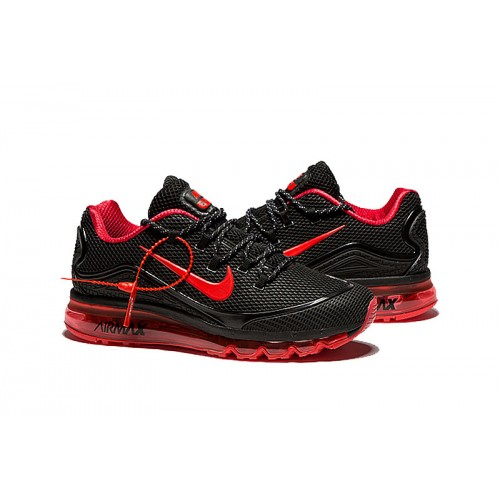 nike air max red and black