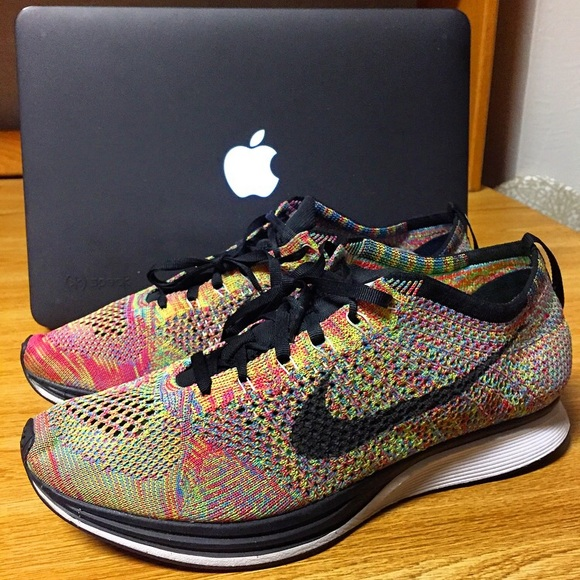c2c4846b36dfc netherlands weird mens nike blue lagoon flyknit racer running shoes  especially 02b35 f8586  coupon code nike multicolor shoes f765d 6c460