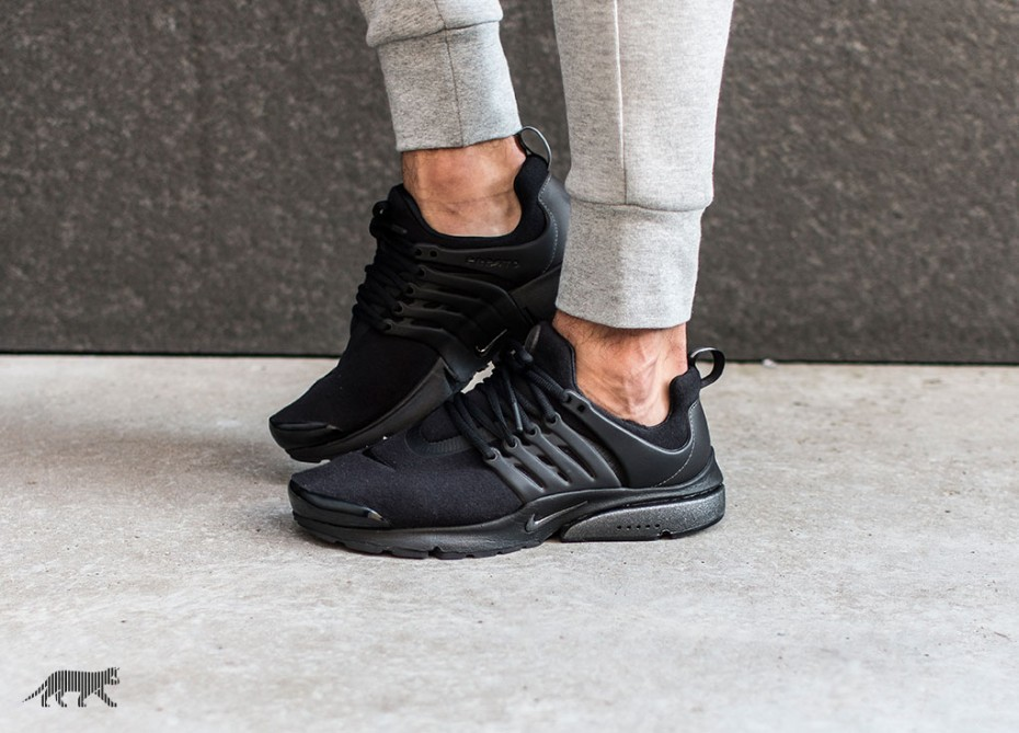 finest selection f29cc 4649e nike presto all black