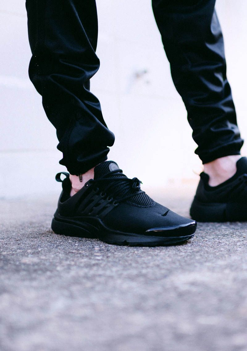 best website 0692a ee3b1 nike presto womens black
