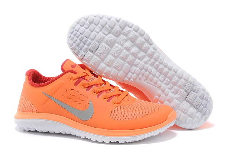 orange nike shoes womens