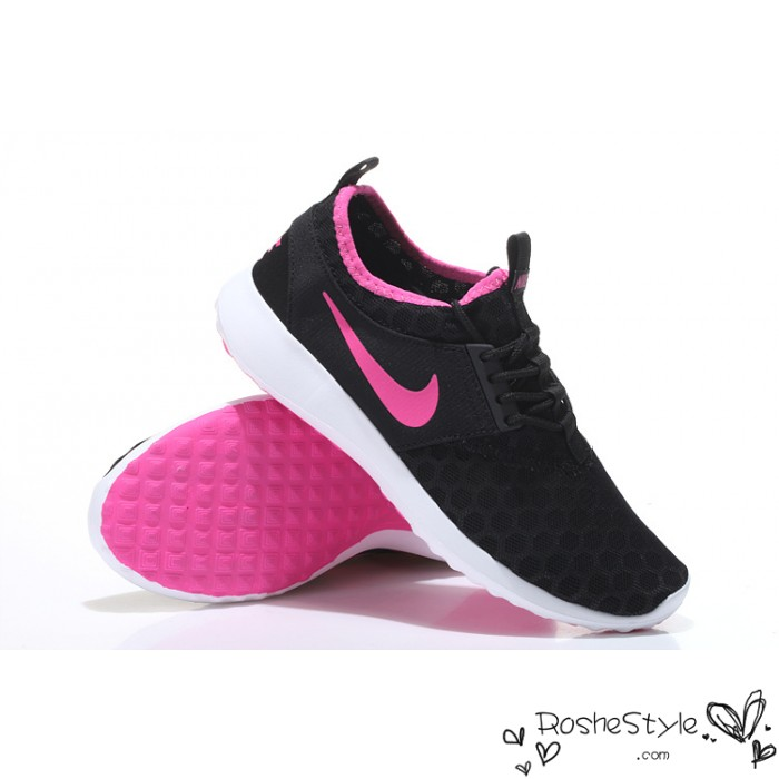 online store c63d5 0900b pink and black nike shoes