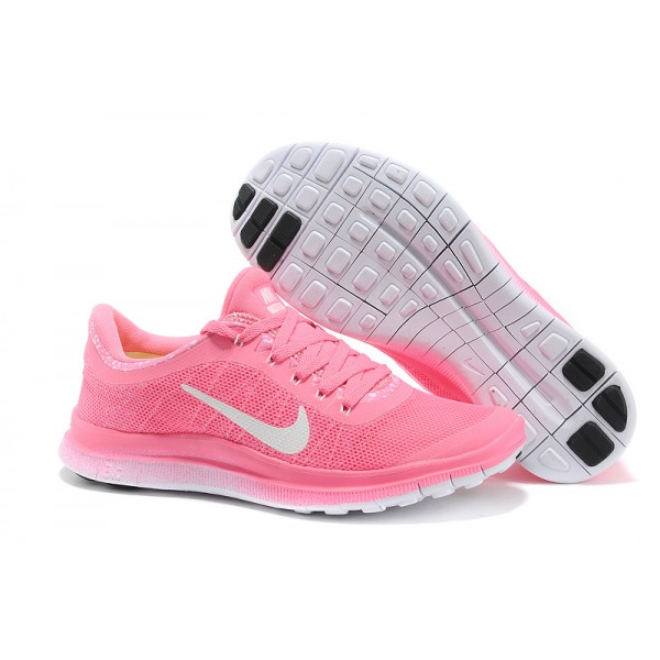 55412dce pink nike running shoes