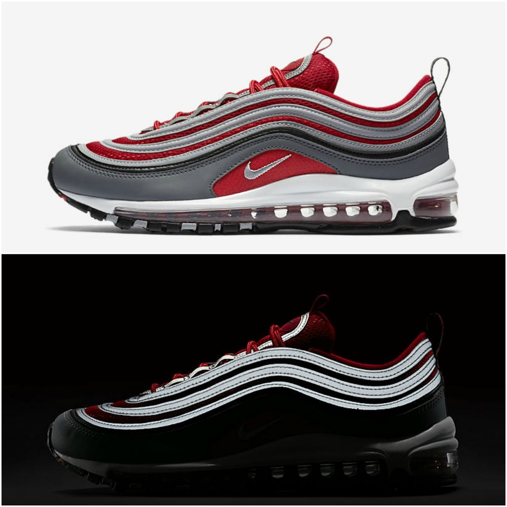 the latest a9a76 bec83 red nike air max 97