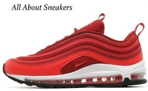 Red Nike Air Max 97 : Buy Nike Sneakers & Shoes | Air force ...