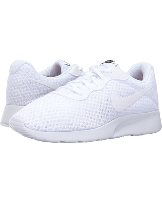 white nike running shoes womens