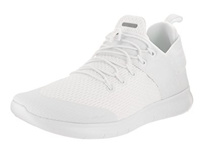 white nike running shoes