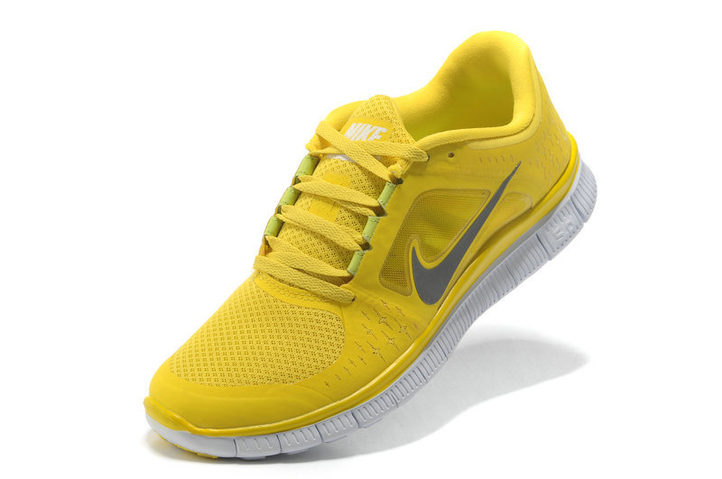 yellow nike shoes womens